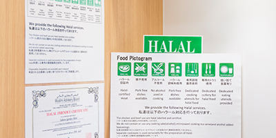 About approach to Halal correspondence