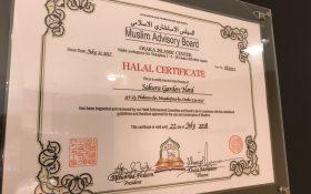 HALAL CERTIFICATE ハラールフレンドリー認証更新